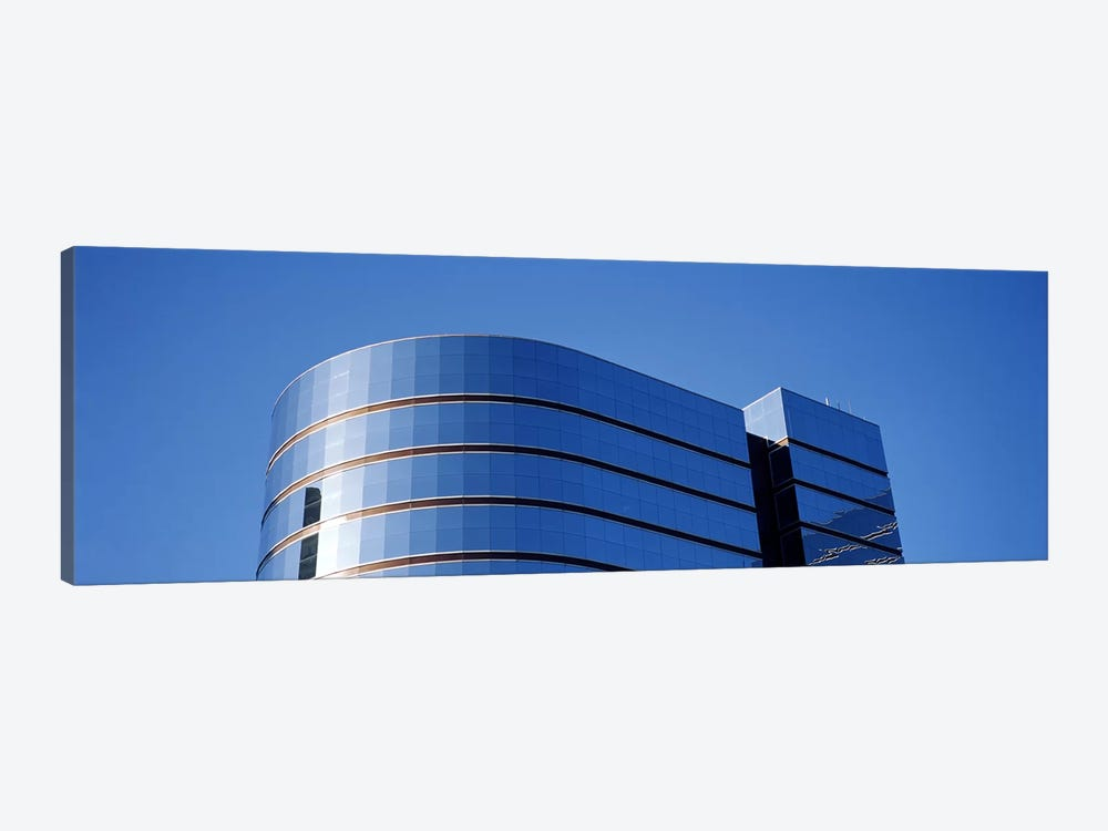 High section view of a building, Midtown plaza, Atlanta, Fulton County, Georgia, USA by Panoramic Images 1-piece Canvas Art