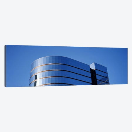 High section view of a building, Midtown plaza, Atlanta, Fulton County, Georgia, USA 3-Piece Canvas #PIM7267} by Panoramic Images Canvas Wall Art