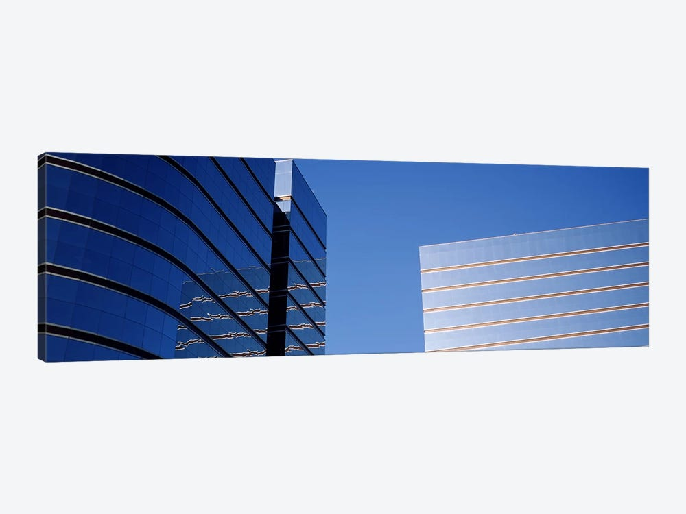Skyscrapers in a city, Midtown plaza, Atlanta, Fulton County, Georgia, USA by Panoramic Images 1-piece Canvas Art Print