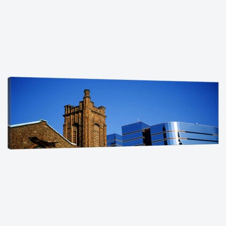 High section view of buildings in a city, Presbyterian Church, Midtown plaza, Atlanta, Fulton County, Georgia, USA Canvas Print #PIM7269} by Panoramic Images Canvas Art Print