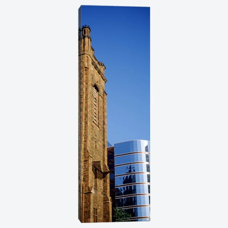 Skyscrapers in a city, Presbyterian Church, Midtown plaza, Atlanta, Fulton County, Georgia, USA Canvas Print #PIM7270} by Panoramic Images Canvas Wall Art