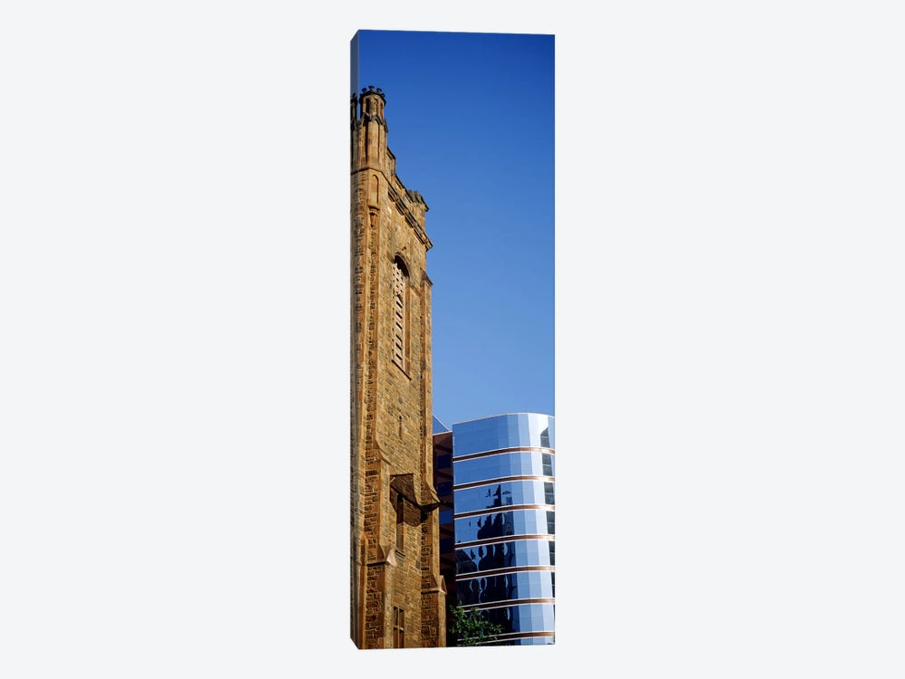 Skyscrapers in a city, Presbyterian Church, Midtown plaza, Atlanta, Fulton County, Georgia, USA by Panoramic Images 1-piece Canvas Art