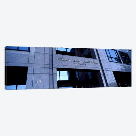 Facade of a bank building, Federal Home Loan Bank, Atlanta, Fulton County, Georgia, USA Canvas Print #PIM7271} by Panoramic Images Canvas Art