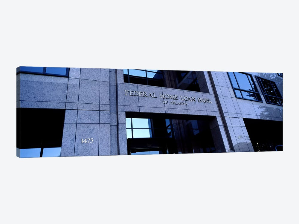 Facade of a bank building, Federal Home Loan Bank, Atlanta, Fulton County, Georgia, USA by Panoramic Images 1-piece Canvas Art Print