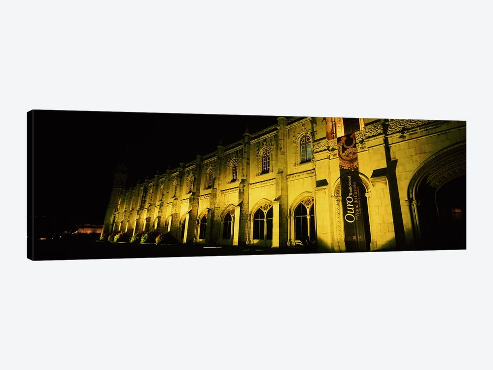 Low angle view of a monastery, Mosteiro Dos Jeronimos, Belem, Lisbon, Portugal by Panoramic Images 1-piece Art Print