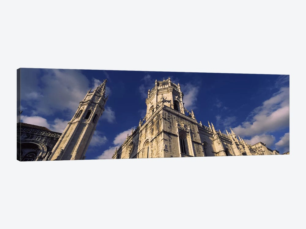 Low angle view of a monastery, Mosteiro Dos Jeronimos, Belem, Lisbon, Portugal #2 by Panoramic Images 1-piece Canvas Wall Art