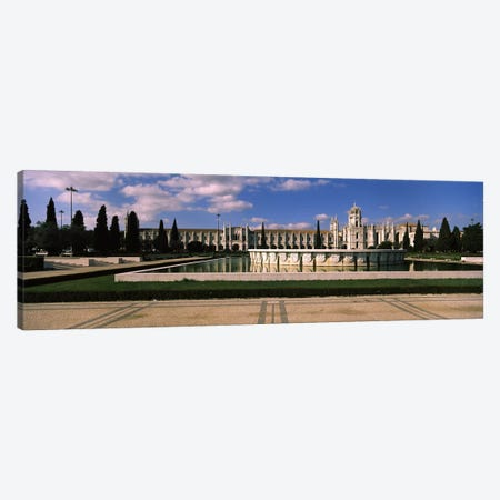 Facade of a monastery, Mosteiro Dos Jeronimos, Belem, Lisbon, Portugal #3 Canvas Print #PIM7301} by Panoramic Images Canvas Wall Art