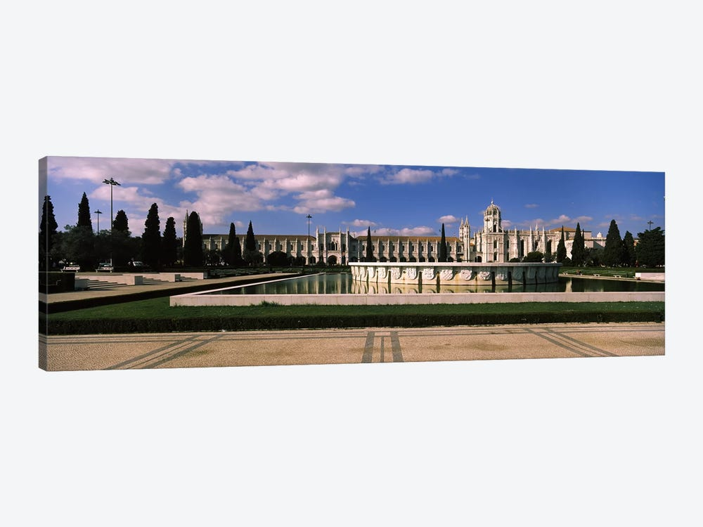 Facade of a monastery, Mosteiro Dos Jeronimos, Belem, Lisbon, Portugal #3 by Panoramic Images 1-piece Canvas Print
