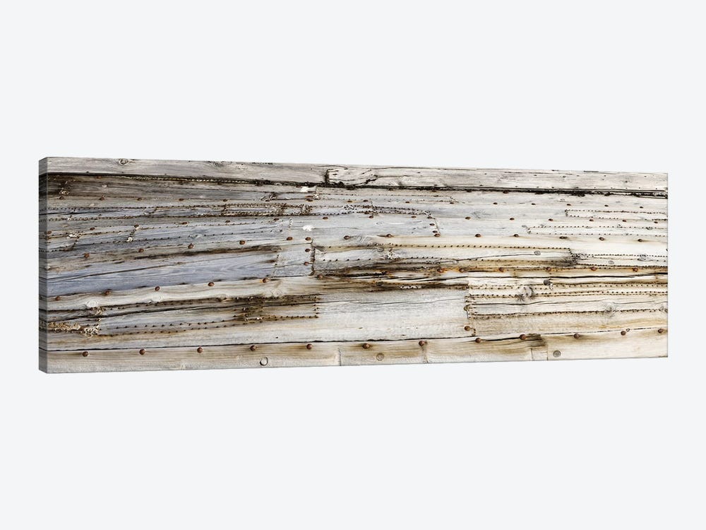Close-Up Of An Old Whaling Boat Hull, Spitsbergen, Svalbard, Norway by Panoramic Images 1-piece Canvas Wall Art