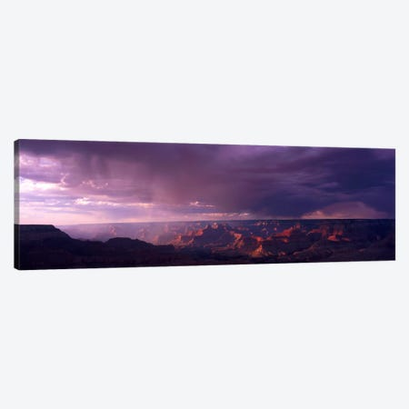 Storm Clouds Over Grand Canyon National Park, Arizona, USA Canvas Print #PIM732} by Panoramic Images Canvas Art