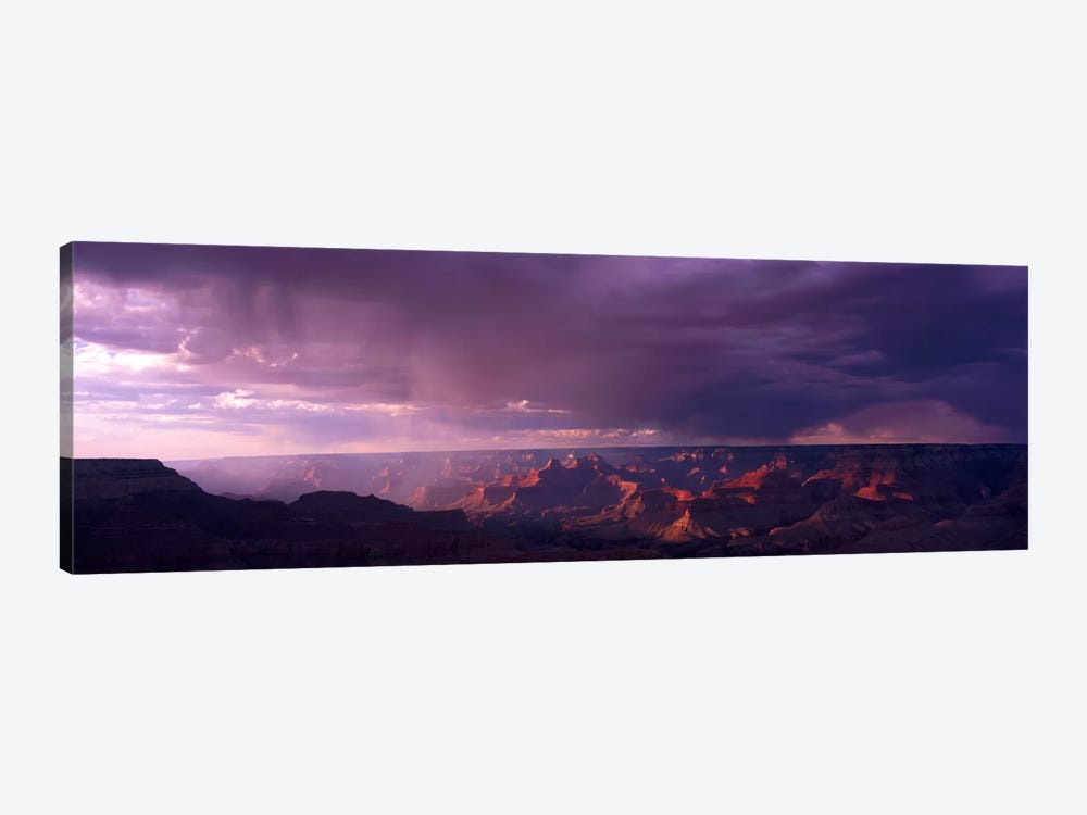 Storm Clouds Over Grand Canyon National Park, Arizona, USA by Panoramic Images 1-piece Canvas Art