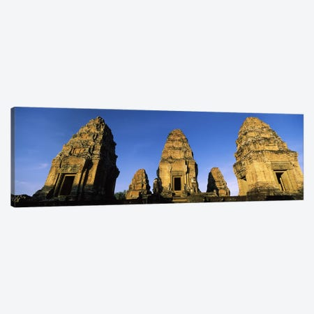 Low angle view of a temple, Pre Rup, Angkor, Cambodia Canvas Print #PIM7331} by Panoramic Images Canvas Art Print