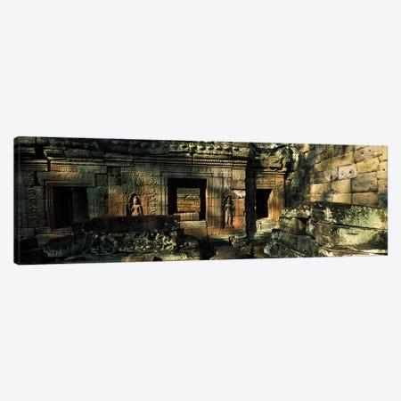 Ruins of a temple, Preah Khan, Angkor, Cambodia Canvas Print #PIM7333} by Panoramic Images Art Print