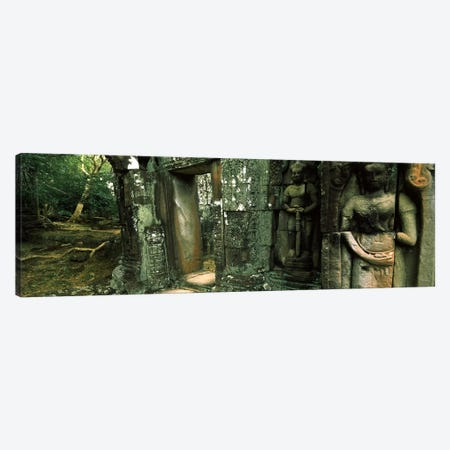 Ruins of a templeBanteay Kdei, Angkor, Cambodia Canvas Print #PIM7336} by Panoramic Images Canvas Art
