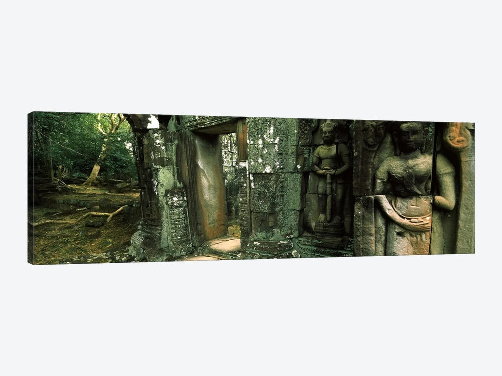 Ruins of a templeBanteay Kdei, Angkor, Cambodia by Panoramic Images 1-piece Art Print
