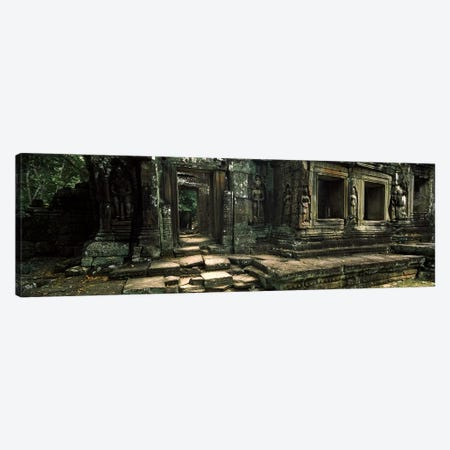 Ruins of a temple, Banteay Kdei, Angkor, Cambodia Canvas Print #PIM7337} by Panoramic Images Canvas Wall Art