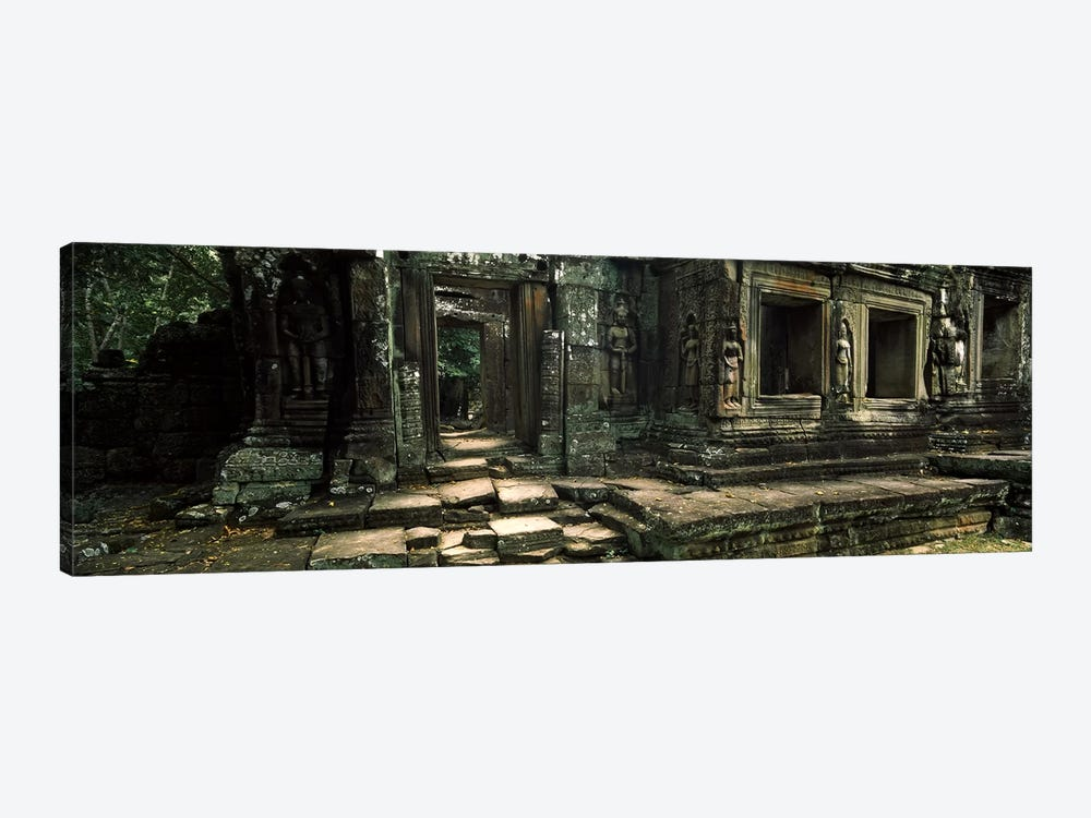 Ruins of a temple, Banteay Kdei, Angkor, Cambodia by Panoramic Images 1-piece Canvas Art