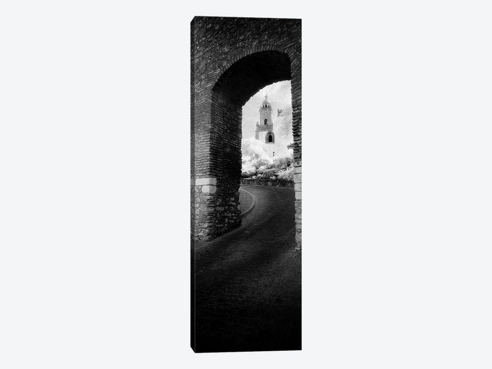 Church viewed through an archway, Puerta Del Sol, Medina Sidonia, Cadiz, Andalusia, Spain by Panoramic Images 1-piece Canvas Art Print