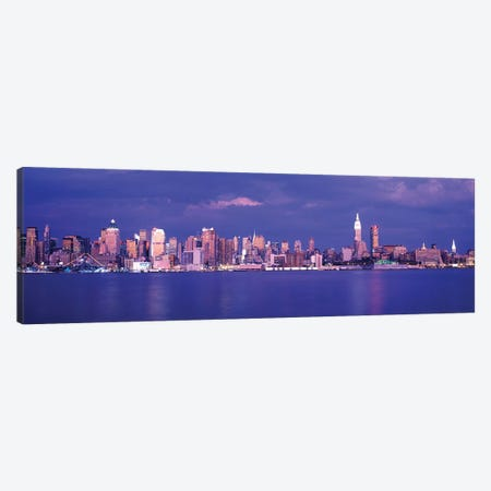 Hudson River, NYC, New York City, New York State, USA Canvas Print #PIM735} by Panoramic Images Art Print