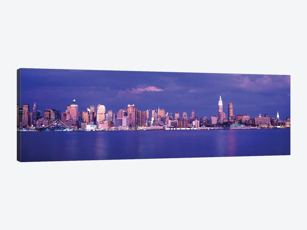 Hudson River, NYC, New York City, New York State, USA by Panoramic Images 1-piece Canvas Art Print