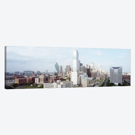 Buildings in a city, Dallas, Texas, USA #4 Canvas Print #PIM7362} by Panoramic Images Canvas Wall Art