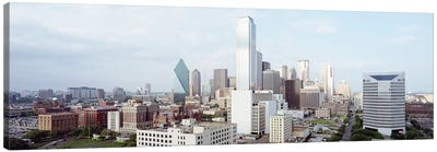 Buildings in a city, Dallas, Texas, USA #4 Canvas Art Print