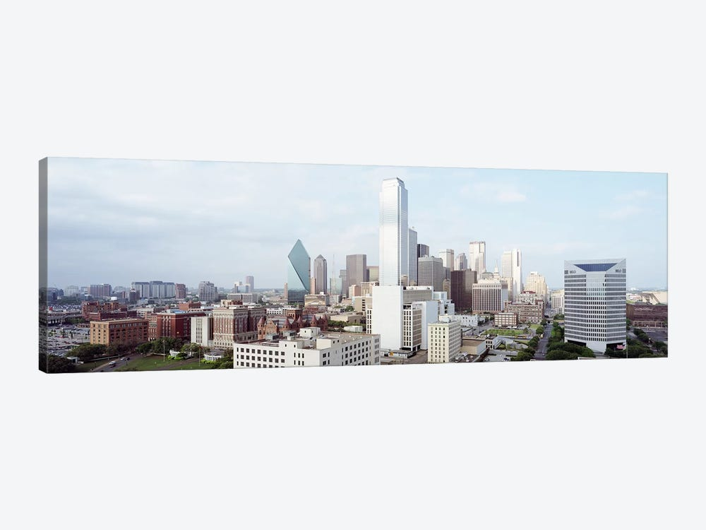 Buildings in a city, Dallas, Texas, USA #4 1-piece Canvas Art