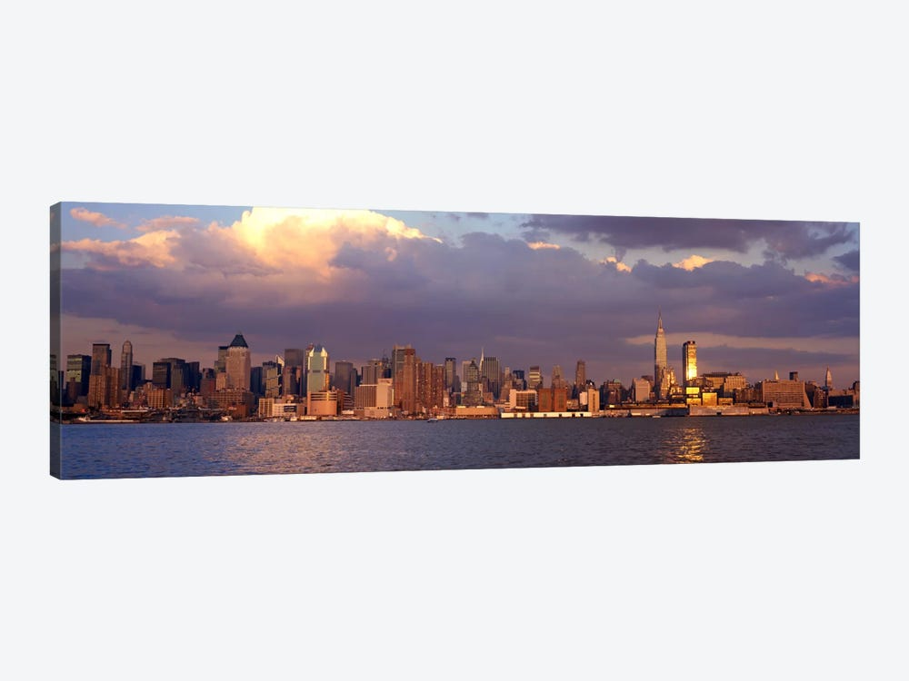 New York City Hudson River NY by Panoramic Images 1-piece Canvas Wall Art