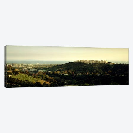 High angle view of a citySanta Monica, Los Angeles County, California, USA Canvas Print #PIM7374} by Panoramic Images Canvas Wall Art
