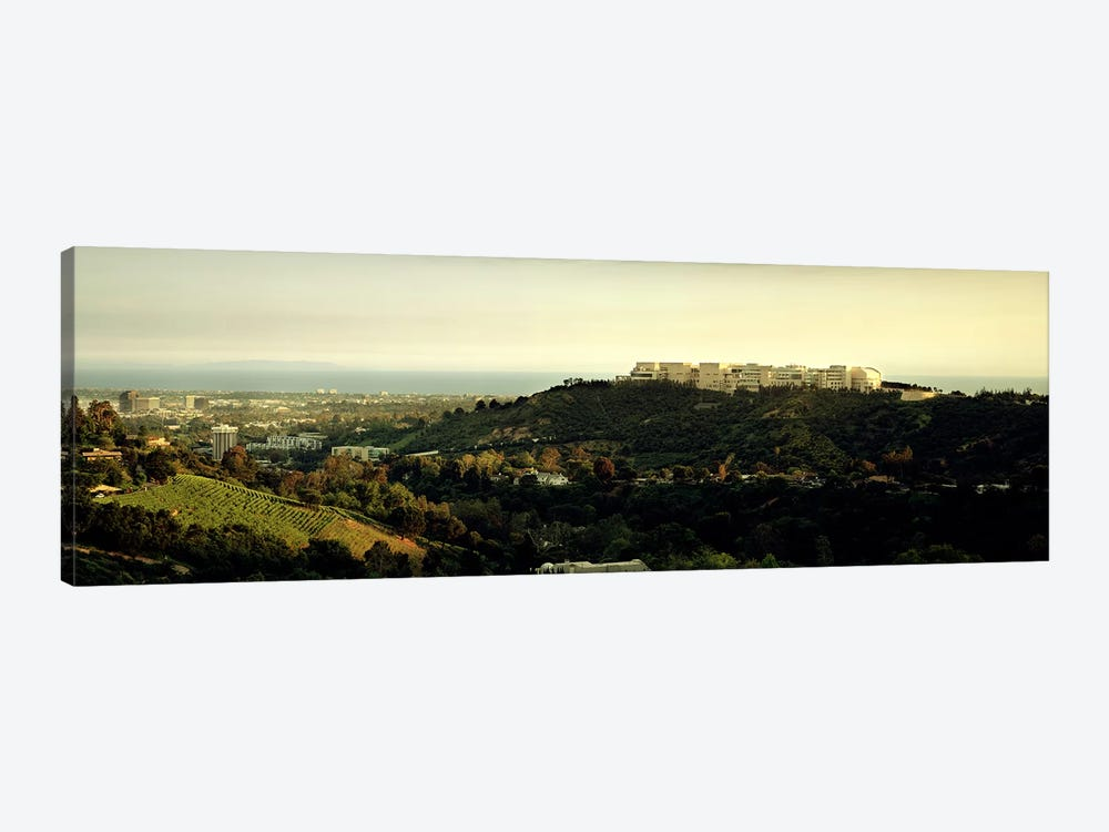 High angle view of a citySanta Monica, Los Angeles County, California, USA by Panoramic Images 1-piece Art Print