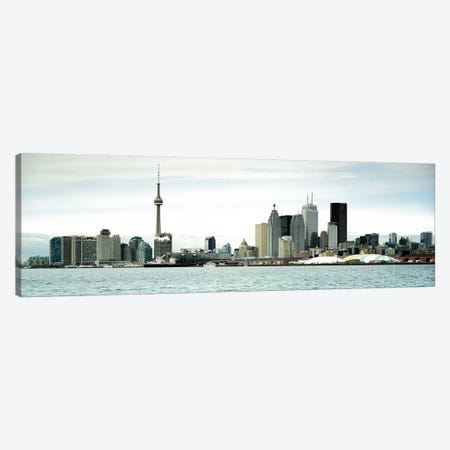 Downtown Skyline, Toronto, Ontario, Canada Canvas Print #PIM7376} by Panoramic Images Canvas Art
