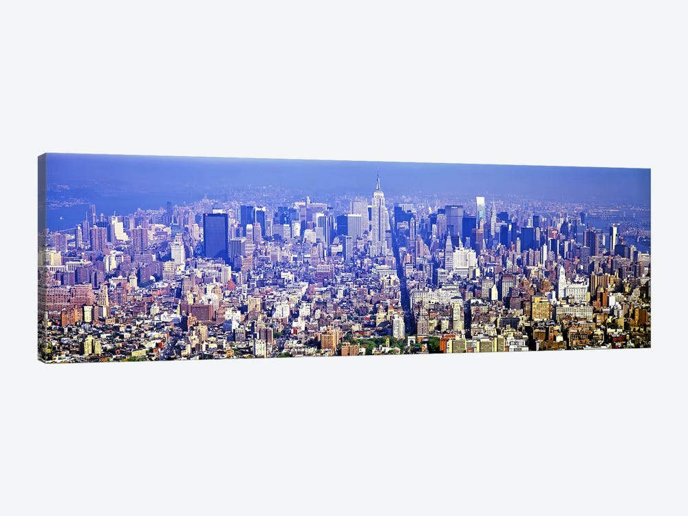 Aerial view of a cityscapeManhattan, New York City, New York State, USA by Panoramic Images 1-piece Canvas Wall Art