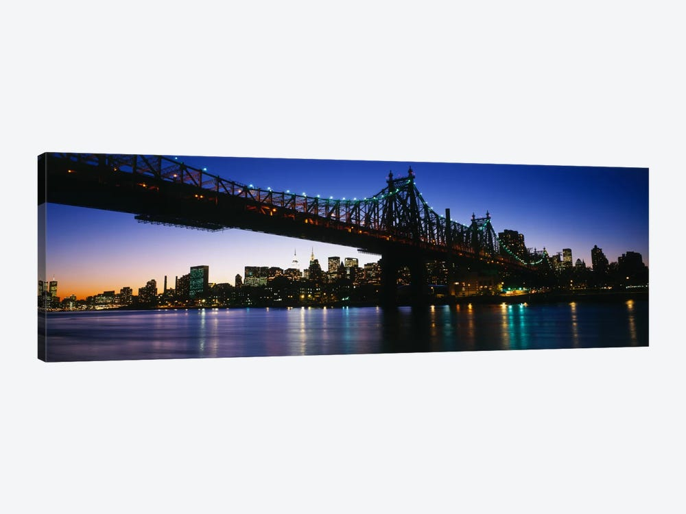 USA, New York City, 59th Street Bridge by Panoramic Images 1-piece Canvas Print