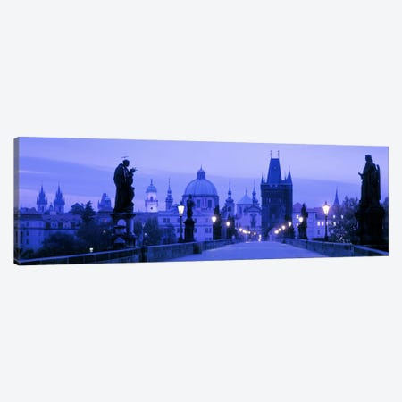 Historic Cityscape, Old Town, Prague, Czech Republic Canvas Print #PIM7383} by Panoramic Images Canvas Art