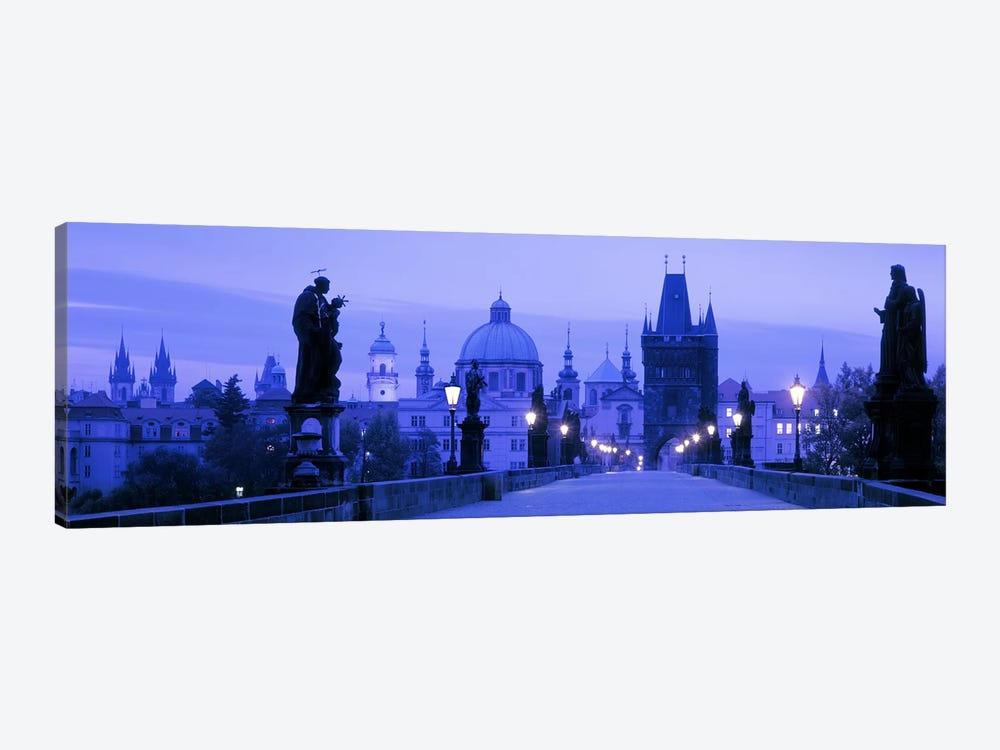 Historic Cityscape, Old Town, Prague, Czech Republic by Panoramic Images 1-piece Canvas Print