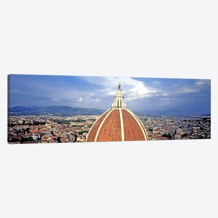 High section view of a churchDuomo Santa Maria Del Fiore, Florence, Tuscany, Italy Canvas Print #PIM7384} by Panoramic Images Art Print