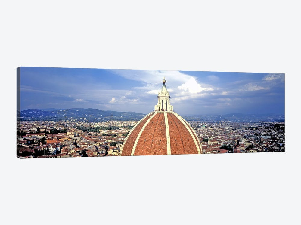 High section view of a churchDuomo Santa Maria Del Fiore, Florence, Tuscany, Italy by Panoramic Images 1-piece Canvas Wall Art