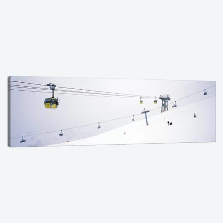 Ski lifts in a ski resortArlberg, St. Anton, Austria Canvas Print #PIM7394} by Panoramic Images Canvas Art
