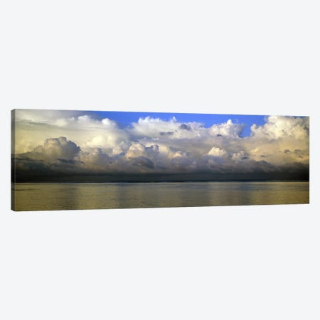 Clouds over the sea Canvas Print #PIM7407} by Panoramic Images Canvas Art