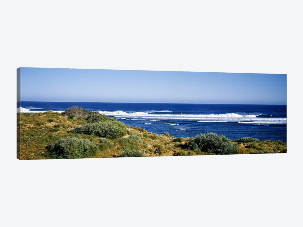 Waves breaking on the beach, Western Australia, Australia by Panoramic Images 1-piece Canvas Print