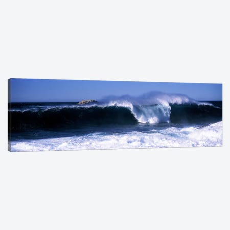 Crashing Waves, Big Sur, California, USA Canvas Print #PIM7413} by Panoramic Images Canvas Artwork