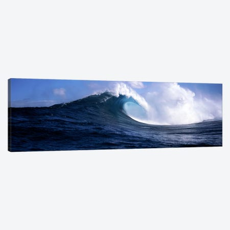 Plunging Breaker, Maui, Hawai'i, USA Canvas Print #PIM7416} by Panoramic Images Art Print