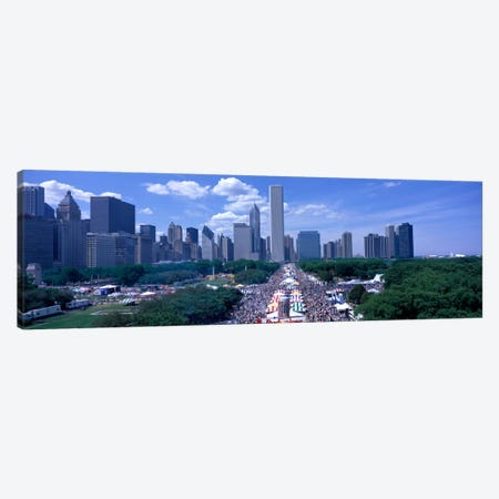 Taste of Chicago Chicago IL Canvas Print #PIM741} by Panoramic Images Art Print