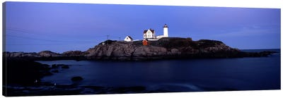 Cape Neddick Light (The Nubble), Nubble Island, York County, Maine, USA Canvas Art Print