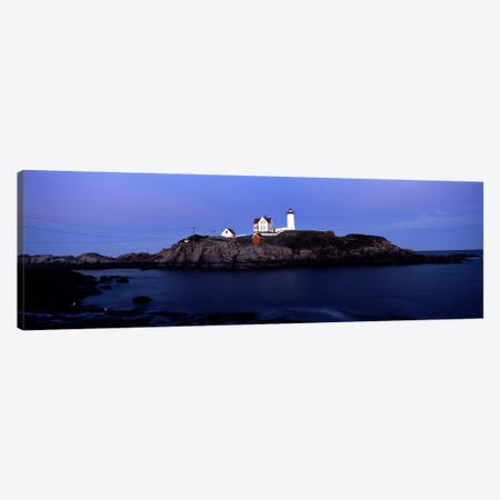 Cape Neddick Light (The Nubble), Nubble Island, York County, Maine, USA Canvas Print #PIM7432} by Panoramic Images Canvas Art
