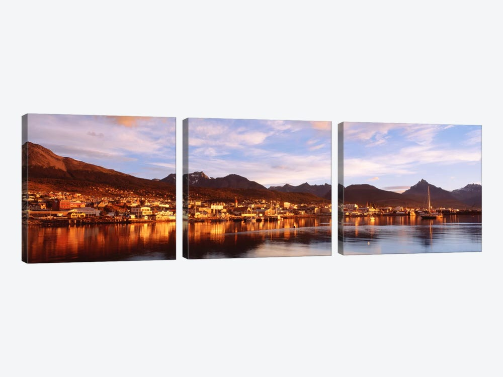 Ushuaia Tierra del Fuego Argentina by Panoramic Images 3-piece Canvas Wall Art