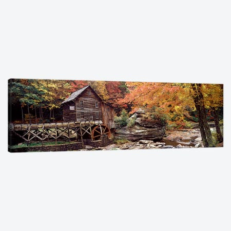 Glade Creek Grist Mill II, Babcock State Park, Fayette County, West Virginia, USA Canvas Print #PIM7448} by Panoramic Images Art Print