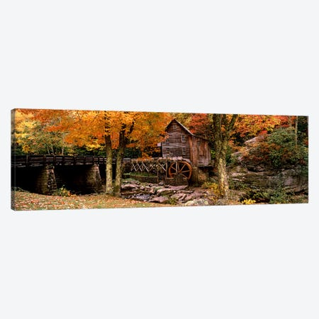 Glade Creek Grist Mill III, Babcock State Park, Fayette County, West Virginia, USA Canvas Print #PIM7449} by Panoramic Images Canvas Print