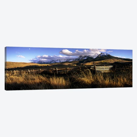 Mountainside Landscape, San Miguel County, Colorado, USA Canvas Print #PIM7459} by Panoramic Images Canvas Art