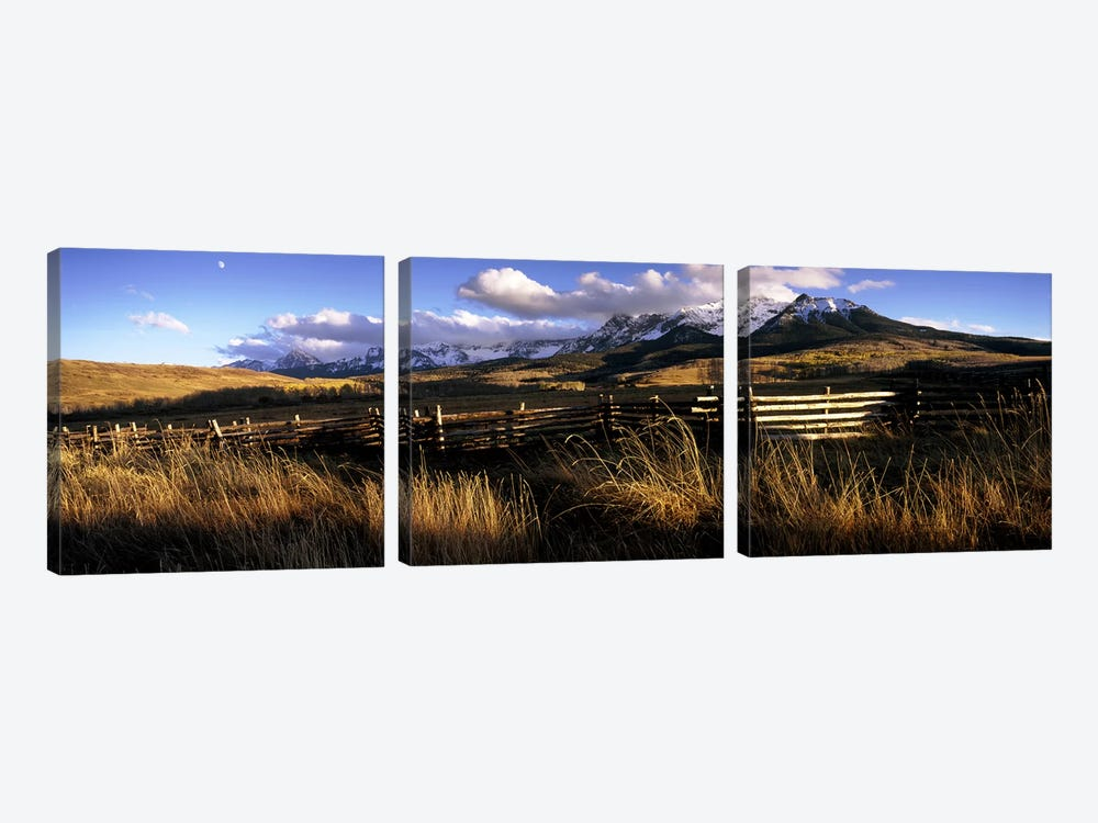 Mountainside Landscape, San Miguel County, Colorado, USA by Panoramic Images 3-piece Art Print